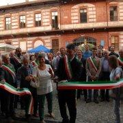 borgo autentico di saluzzo piemonte festa nazionale bai 2015 taglio del nastro inaugurazione