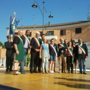 festa nazionale borghi autentici 2013 tresigallo inaugurazione con i sindaci dei borghi