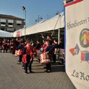 festa nazionale borghi autentici 2013 tresigallo spettacolo sbandieratori di pietralunga