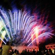 festa nazionale borghi autentici 2013 tresigallo spettacolo fuochi artificiali